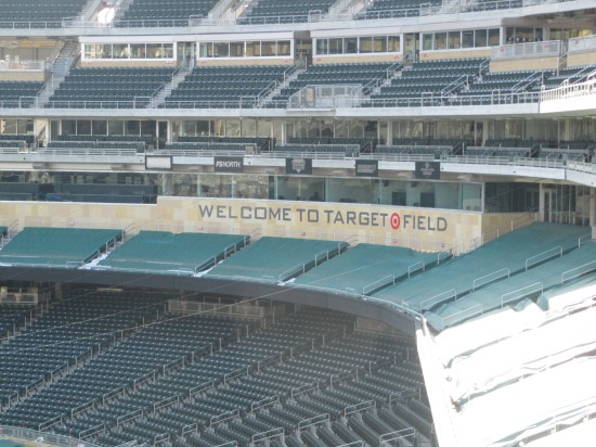 24 - Welcome to Target Field sign.JPG