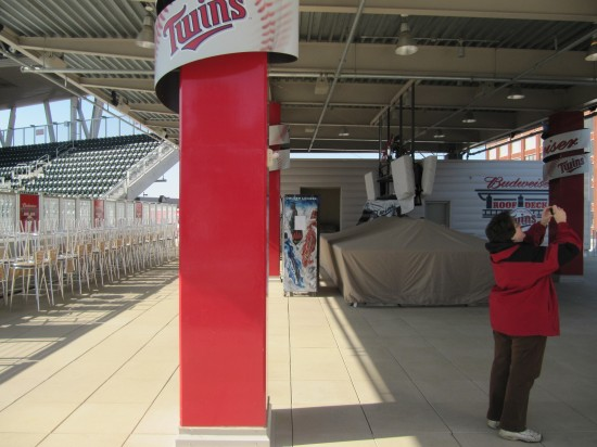 27 - Target Field Bud party deck.JPG