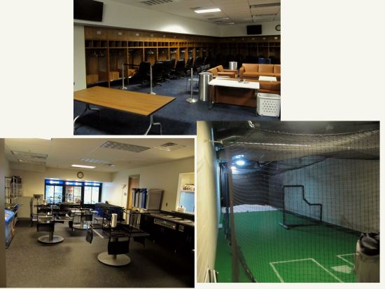29 - Target Field visitors clubhouse and batting cage.JPG