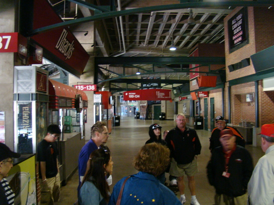 11 - Chase Field concourse at section 137.JPG