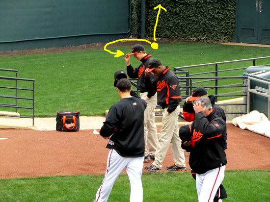 11  - thanks orioles bullpen guy.JPG