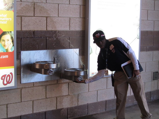 12 - busted water fountain.JPG