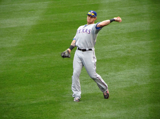13 - Josh Hamilton playing catch.JPG