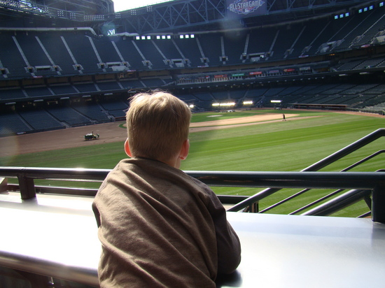 22 - Tim checks out Chase Field.JPG
