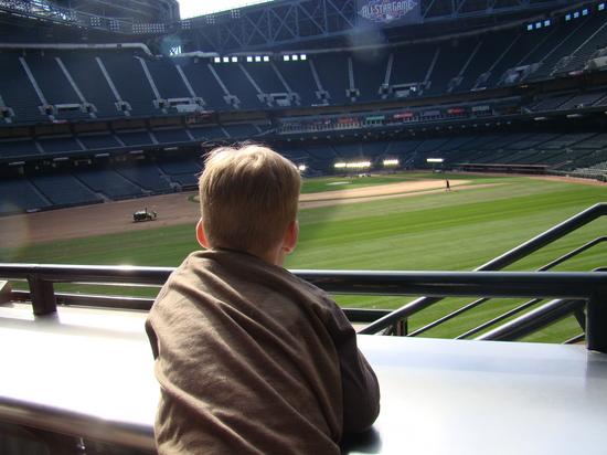 22 - Tim checks out Chase Field.JPG
