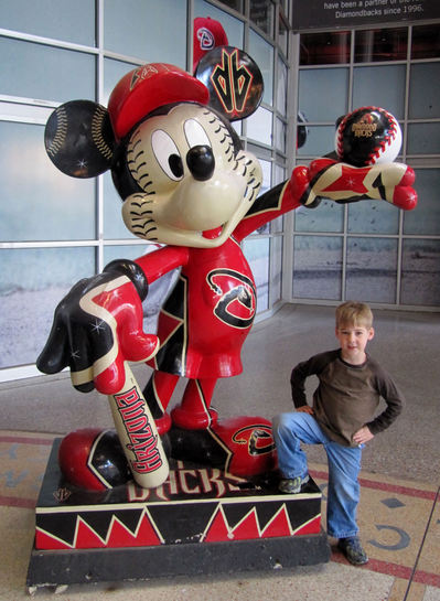 3 - Tim and Diamondbacks Mickey.JPG