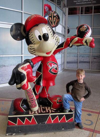 3 - Tim and Diamondbacks Mickey.JPG