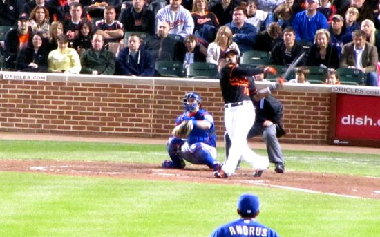 36 - Adam Jones foul ball.JPG