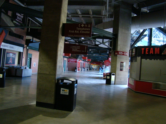 39 - Chase Field concourse section 105.JPG