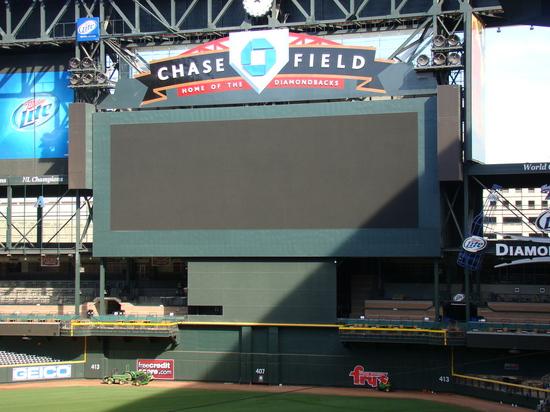 43 - Chase Field scoreboard jumbotron.JPG