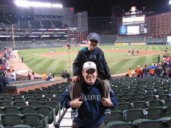 43 - Todd and Tim complete the doubleheader.JPG