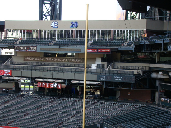 45 - Chase Field RF with retired numbers.JPG