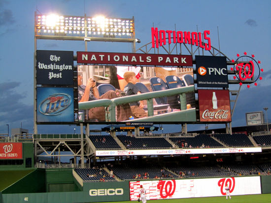47 - Tim dance party on Nats park screen.JPG