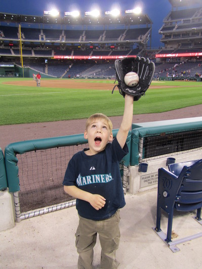 49 - Tim fake catch on hanel baseball.JPG