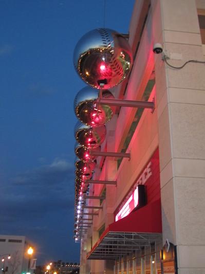 52 - big silver baseballs outside Nationals Park.JPG