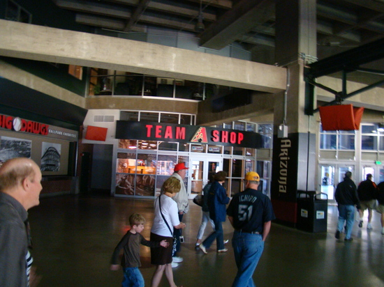 59 - Chase Field concourse and team store.JPG