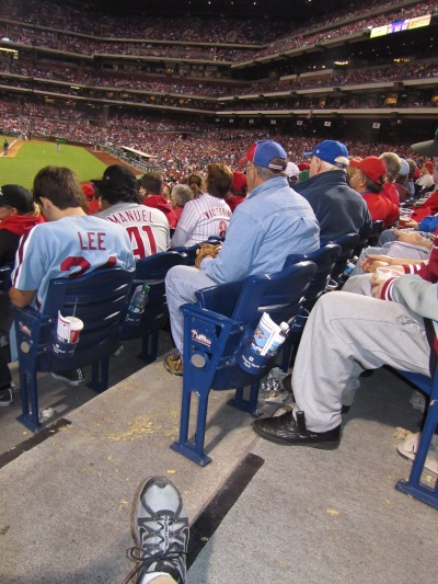 27 - foul ball catcher nearby.JPG