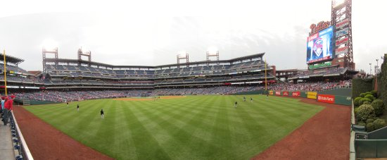 8 - Citizens Bank Park section 101, row 1, seat 1 panorama.jpg