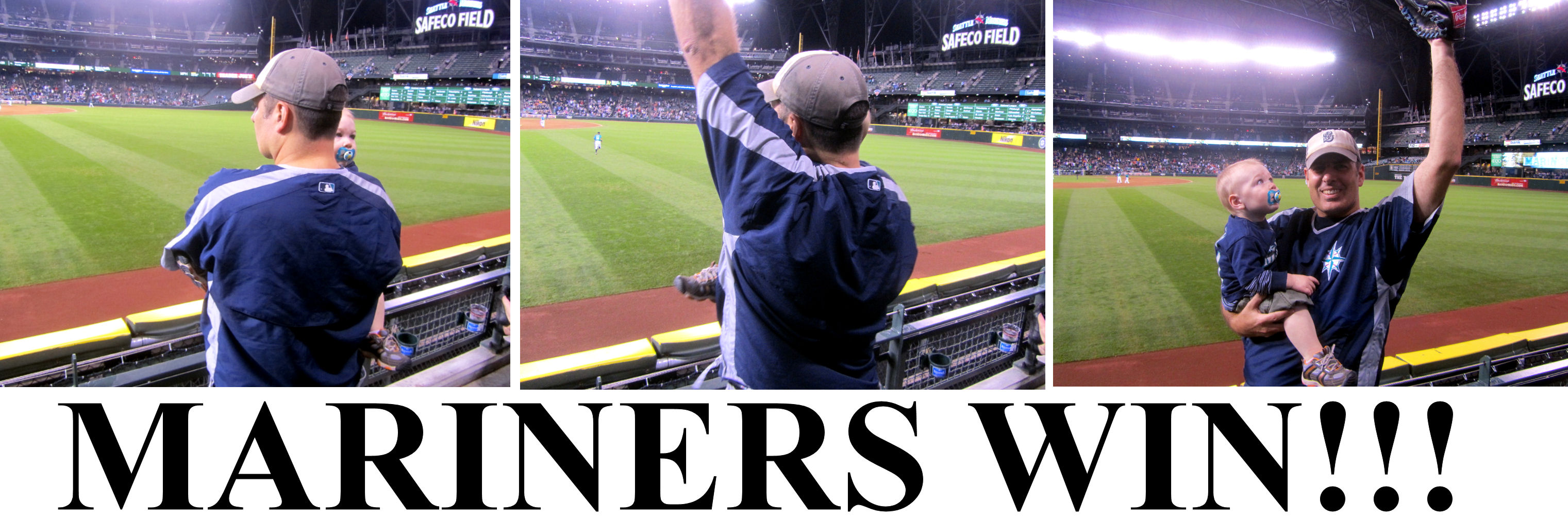 The Best MARINERS Game of 2011 (9/26/2011) « Cook & Son Bats Blog